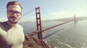 San Francisco, California, golden gate, selfie, golden gate bridge, san francisco bay,