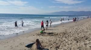 Ocean, Pacific, Beach, Santa Monica, Los Angeles,