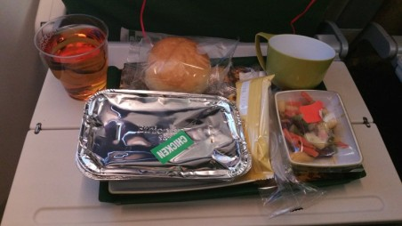 Ethiopian Airlines, meal