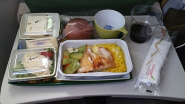 Flight, Food, Ethiopian Airlines, Dinner, Meal,