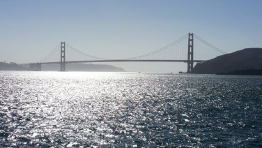 San Francisco, California, golden gate, golden gate bridge, san francisco bay, water, ferry, sunset,