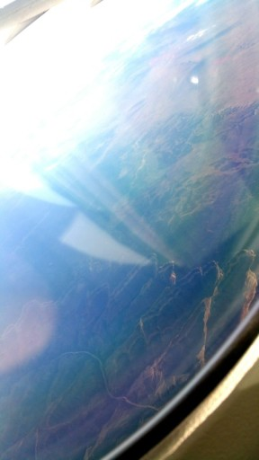 The Grand Canyon Colorado from above