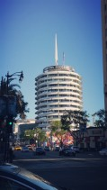 Los Angeles, Hollywood, Capitol Records, Building,