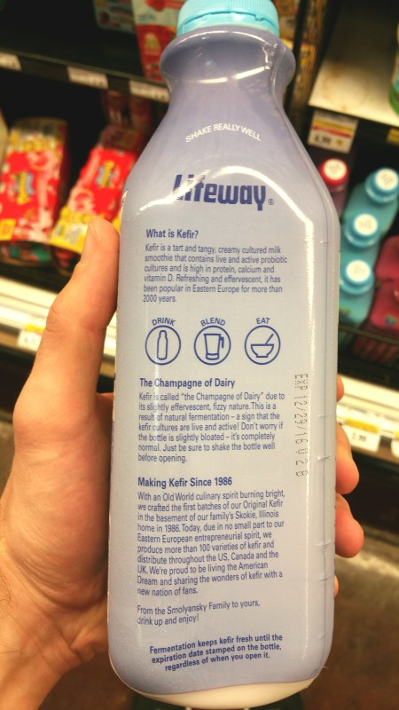 Kefir, USA, California, lifeway, blueberry, product, eat, drink,