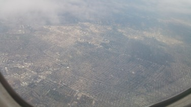Los Angeles, Above, Flight,