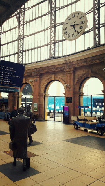 Liverpool, Lime Street, Train Station, Clock