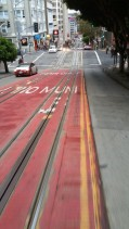 California, San Francisco, Tram, front, ride, hill, hills, cable car,