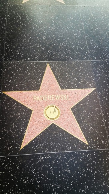Paderewski, Hollywood, Hollywood Boulevard, Music,
