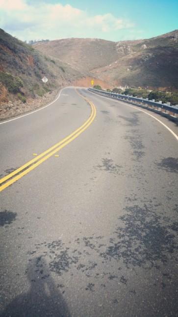 California, San Francisco, Golden Gate Bridge, road, downhill,