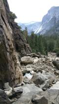 San Francisco, California, Yosemite, Yosemite National Park, Yosemite Falls, Falls, Waterfall, dry, autumn, water, rocks, climb,
