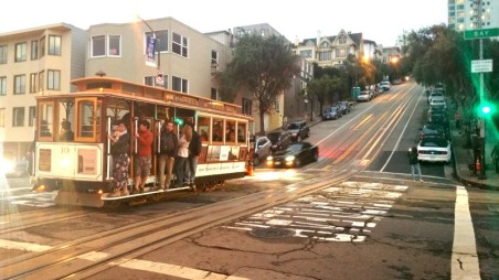 Tram, San Francisco, Cable Car,