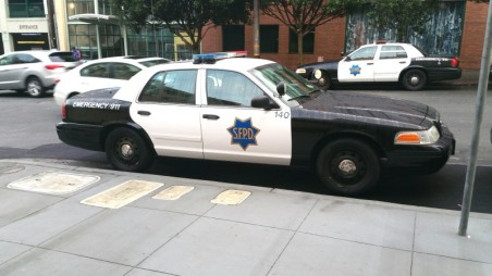 San Francisco, SFPD, Police Car,