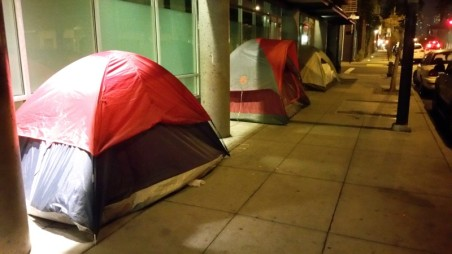 California, San Francisco, poor, homeless, tents, tent, street,