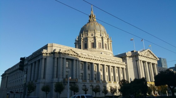 California, San Francisco, town hall, building,