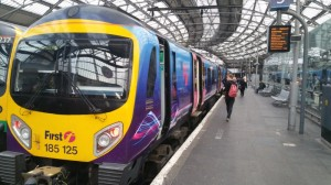 Lime Street, Liverpool Train Station, First Transpennine Express
