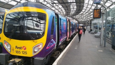 Lime Street, Liverpool Train Station, First Transpennine Express