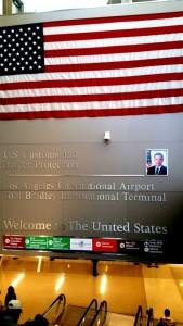 American Flag, Los Angeles Airport, Tom Bradley