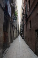 I loved the narrow streets. Although not much light for those living on low level floors...