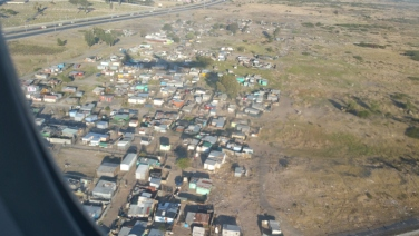 "You see a real township. There are millions of people living in so called ""townships"" and its mainly illegal immigrants to South Africa seeking a better life."