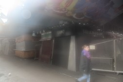 Mercat inside. A bit foggy and souless. Ghostly I'd say!