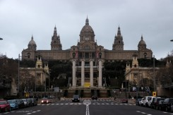 Palau Nacional. The main site of the 1929 International Exhibition. Free entry!