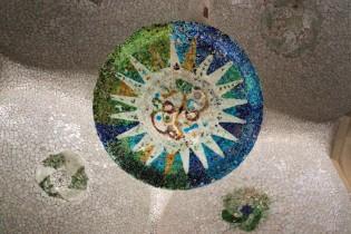 Mozaic sun.