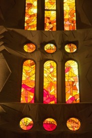 Stained window details - on the otehr side.