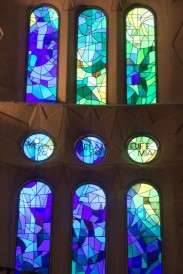 stained window details.