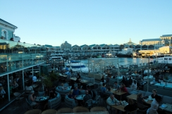 V and A Waterfront. Quite busy as well.
