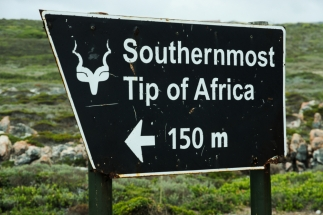 That's our destination Cape Agulhas.