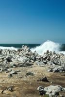 The ocean seemed peaceful...
