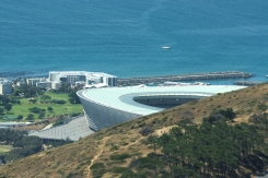 Cape Town Stadium from Lion's Head, south Africa