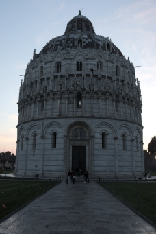 Baptistery evening