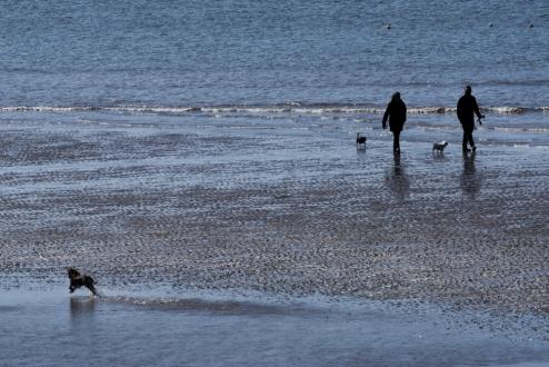 Blackpool Beach stroll