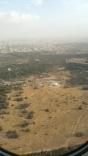 Landing in Dubai. Quite deserty!