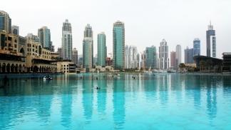 Dubai Mall and Burj Khalif