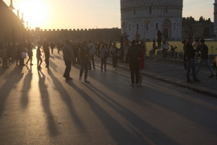 Evening in Pisa