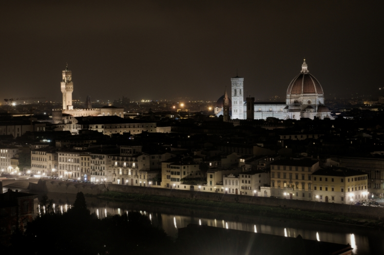 Florence at night2