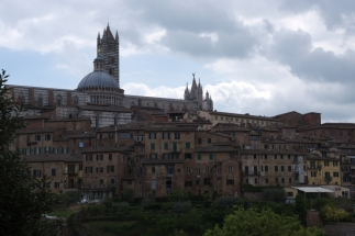Siena from below