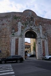 Siena old city gate