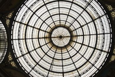 Vittorio Emanuele Glass Dome
