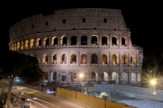 Colosseum by night 3