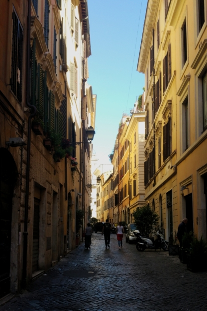 Cute streets of Rome