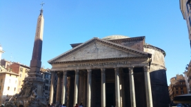 Pantheon outside