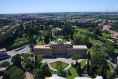 Pope residence and Vatican Gardens