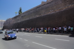 Queue to the Vatican Museum