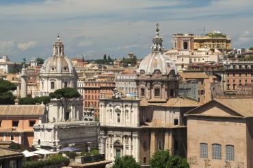 Rome cityscape 3
