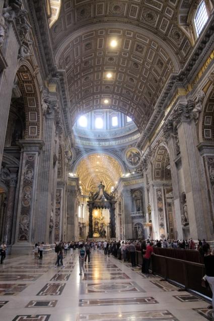St Peter Basilica inside 5