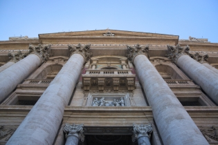 St Peter Basilica main entrance