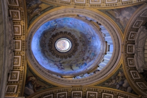 St Peter Basilica majestic ceiling